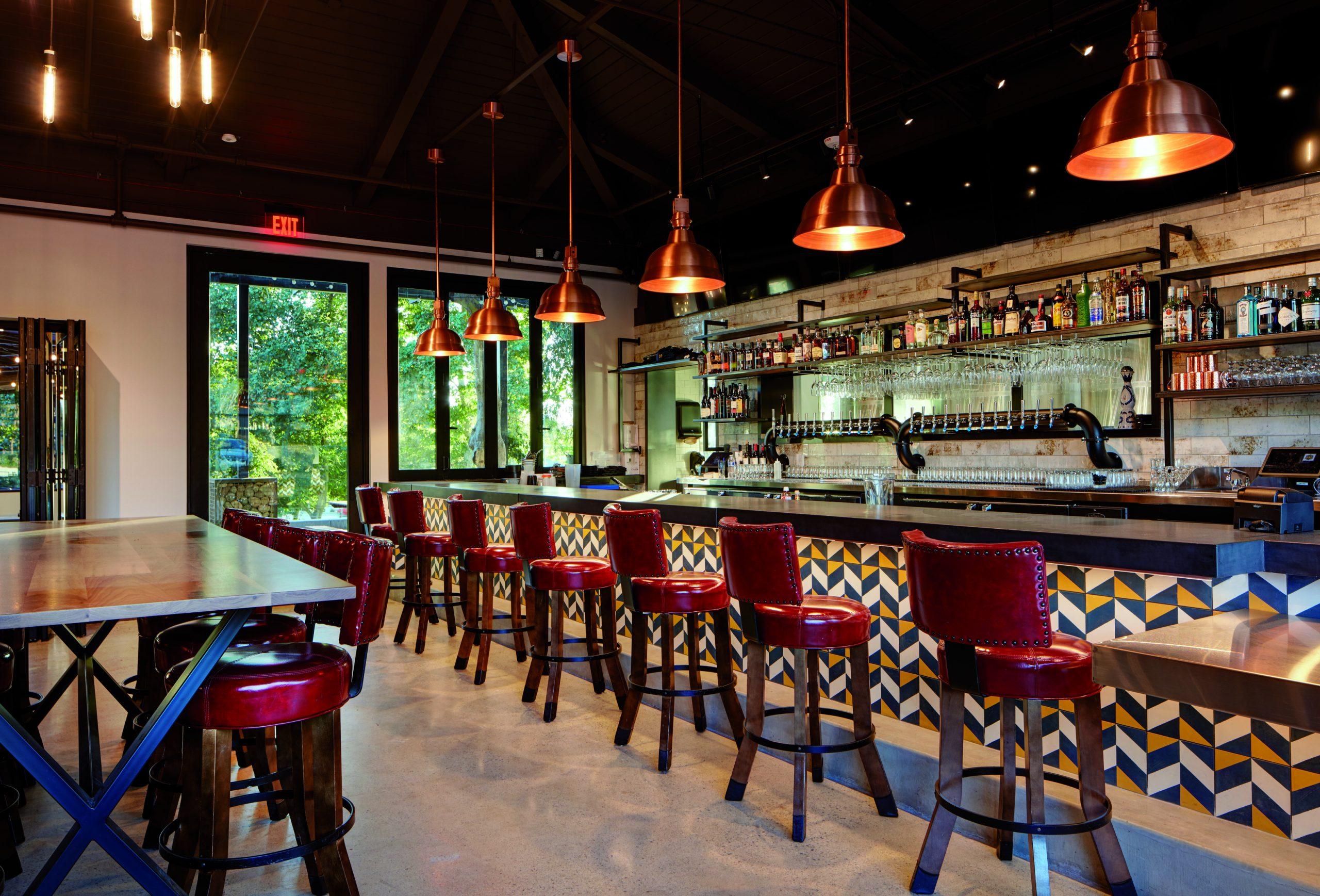 Oscar Brewing Company bar